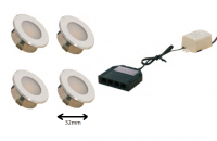 LEDware | LED inbouwspot | 3 LED spots | 100Lm | Doe Het Zelf LED Kit | Warm Wit | DP05
