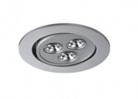 LEDware | LED inbouwspot | 3 LED | Rond | 3 x 1W | 350mA | War