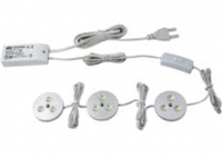 LEDware | LED Kastverlichting set | 3 Lampjes | 3 x 3W