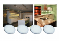 LEDware | LED Kastverlichting set | 4 Lampjes | 4 x 1,5W | R